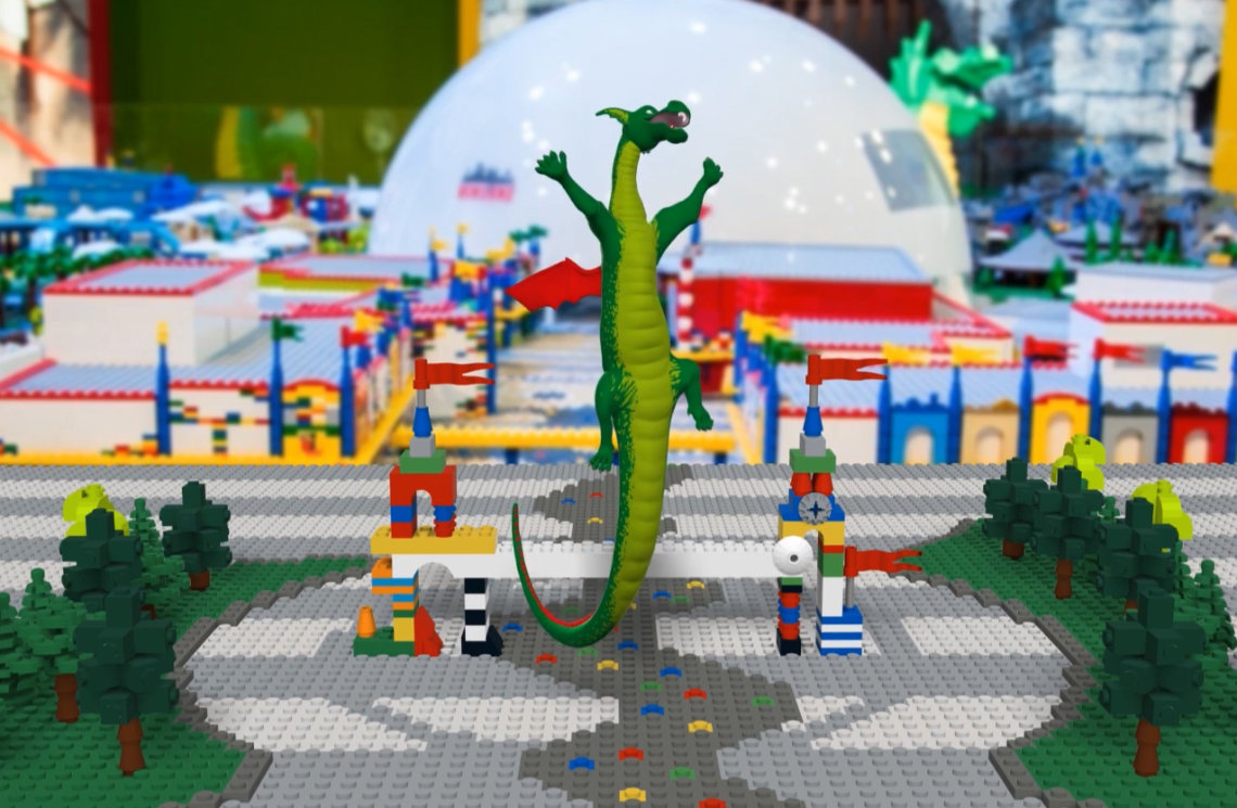 lego augmented reality promotion mobile app