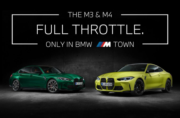 BMW M3 & M4 Test Drive Platform Augmented Reality, Mobile and Web App Development reference image