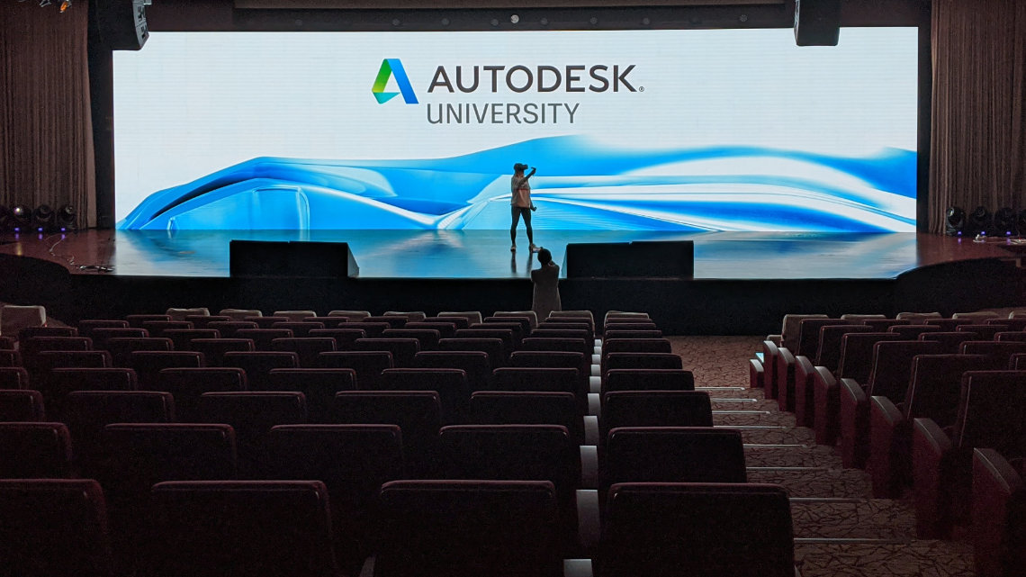 AutoDesk University Event - Live VR performance 3